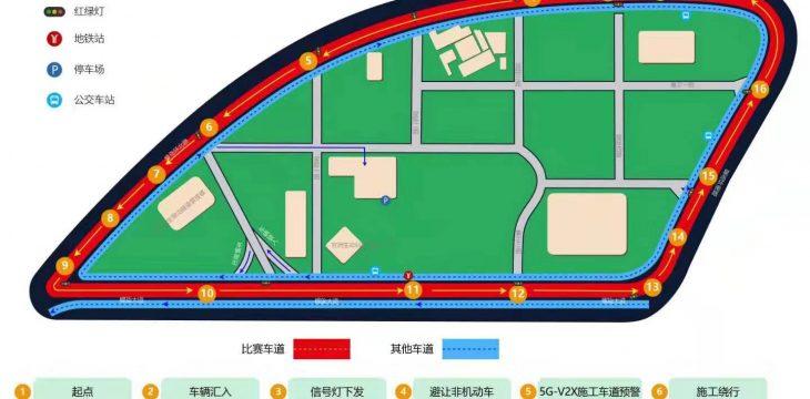 密码保护:2019智能网联汽车驾驶大赛(广州)车内视角